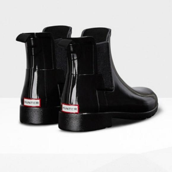 f9dda8a3237 Hunter Shoes - Hunter Original Refined Chelsea Gloss Rain Boots